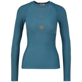 Skins Series-5 LS Top Women, teal